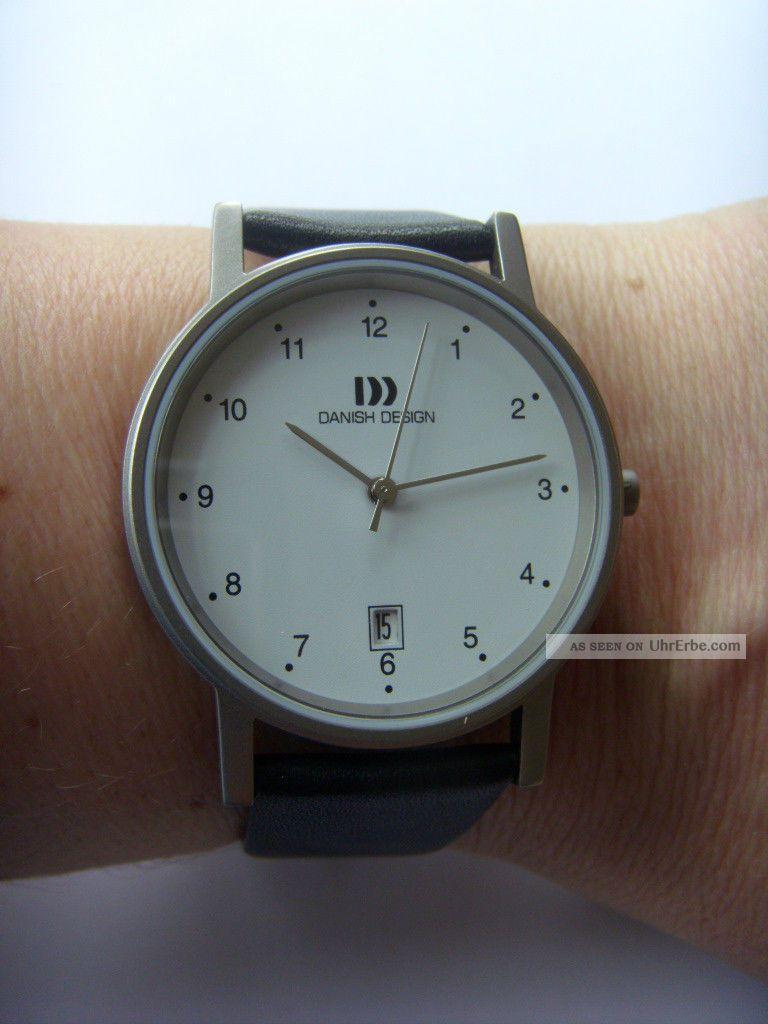Danish Design Uhr Watch Herrenuhr 3316033 Titan Matt Dänisches Design Iq12q170 Armbanduhren Bild