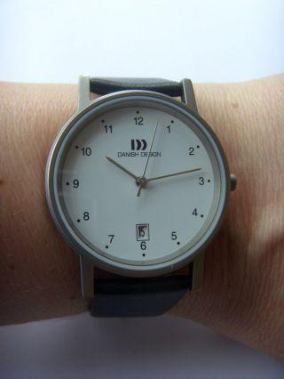 Danish Design Uhr Watch Herrenuhr 3316033 Titan Matt Dänisches Design Iq12q170 Bild