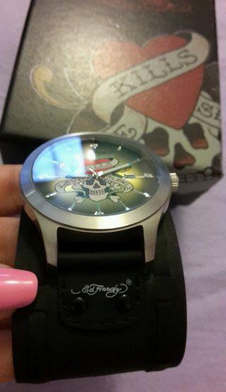 Ed Hardy Gllk Armbanduhr Für Herren Bild