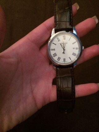 Tissot Armbanduhr Braun Herren Bild