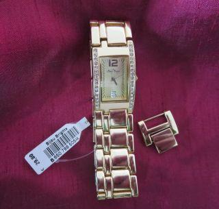 Armbanduhr Für Damen - Goldfarben - Quartz - Bijou Brigitte - Mit Etikett Bild
