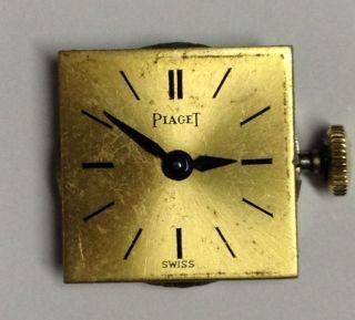 Piaget Werk Handaufzug Mit Zeiger Und Zifferblatt Bild