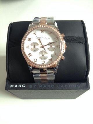 Marc By Marc Jacobs Mbm3106 Top Moderne Damen Uhr Ovp Hinkucker Bild
