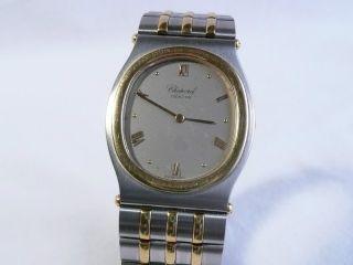 Elegante Chopard Monte - Carlo,  Stahl - Gold,  Box,  Papiere,  Von 1992 Bild