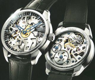 Tissot Uhr T - Classic T - Complication Squelette Mit Bild