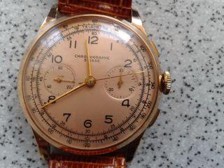 Chronographe Suisse Rosegold 18k Bild