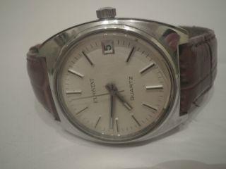 Vintage Exponent Herrenuhr Mit Datum Bild