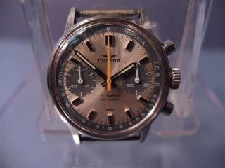 Ältere Hau,  Certina,  Chronograph,  Kal.  7733,  Edelstahl,  Handaufzug,  70er Jahre Bild