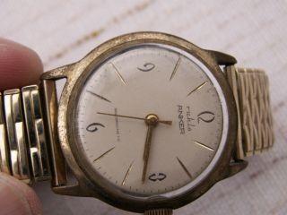 Ddr Herren - Uhr Ruhla - Anker,  Seltenes Disign,  60er Jahre,  Aus Nachlaß,  Lesen Bild