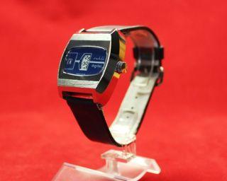 Vintage Ruhla Digital Herren - Armbanduhr Nos Bild