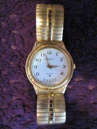 Herren Armband Uhr Sonic - Gehäuse: Ca.  40 X 35 Mm - Gehäusehöhe: Ca.  5 Mm Bild