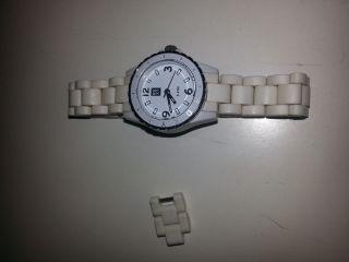 Roxy Unisex Armbanduhr In Weiß Bild