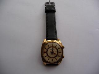 Alte Russische Uhr Poljot Alarm - Wecker Uhr Bild