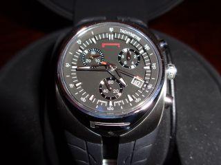 Pirelli Damenchronograph 3h,  Edelstahl,  Saphirglas,  Datumsanzeige,  Wie Bild
