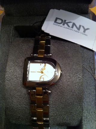 Damenuhr Von Dkny,  Mit Etikett,  Gold - Silber Bild
