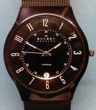 Skagen 233xltmb Titanium - Herren - Armbanduhr Schwarz Bild