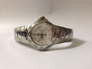 Tag Heuer Damensport Professional 200m Wasserdicht Swiss Made Saphir Bild