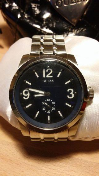 Guess Uhr Armbanduhr Herrenuhr Metallarmband Bild