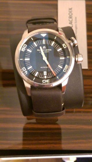 Maurice Lacroix Pontos S Armbanduhr Für Herren Bild