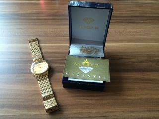 Herrenarmbanduhr Astron Automatic - Uhr Hartvergoldet Bild