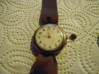 Damenuhr Uhr Uhren Antik Alte Uhr Bild