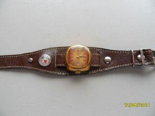 Russische Armbanduhr Zarja, . Bild