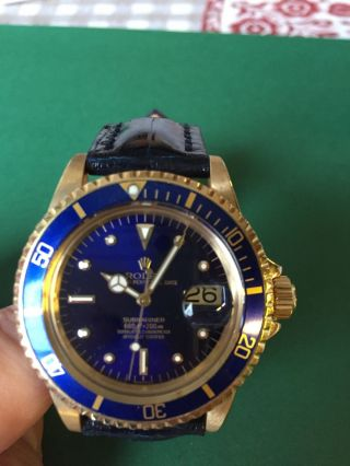 Rolex Oyster Perpetual Submariner Bild