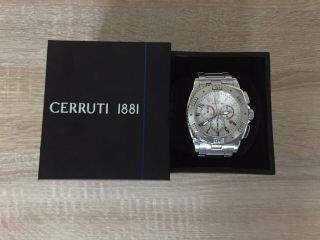 Cerruti 1881 Herrenuhr,  Mit Ovp,  S.  Bilder,  Sehr Angenehm Zu Tragen, Bild