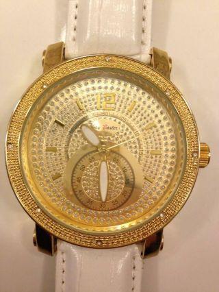 Schöne Gold Uhr Mit Strass Bild