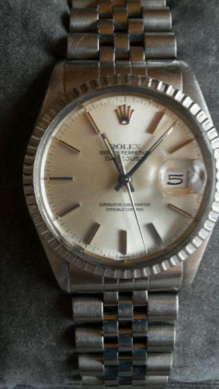 Rolex Oyster Perpetual Datejust Armbanduhr Für Herren (m116233 - 0149) Bild
