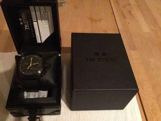 Tw Steel Tw 900 Canteen Schwarz/gelb 45 Mm Neuwertig Bild