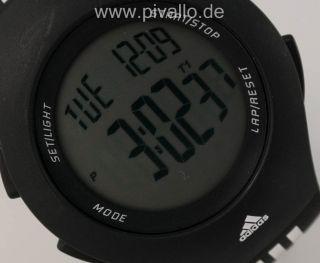 Adidas Furano Herrenuhr / Damenuhr / Uhr Silikon Schwarz Weiß Adp6036 Bild