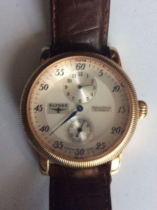 Elysee Regulateur Automatic Armbanduhr Bild