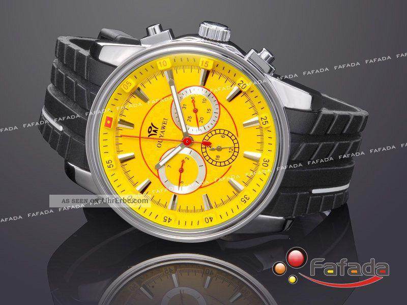 Ouyawei Mechanische Automatik Armbanduhr Herrenuhr Herren