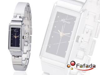 Kimio Quarzuhr Damenuhr Armbanduhr Damenarmbanduhr Damen Quarz Uhr Watch Silber Bild