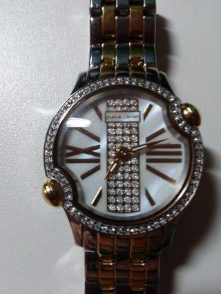 Pierre Cardin Time Couture Damenuhr Armdanduhr Für Frauen (10241 - 2) In Gold Bild