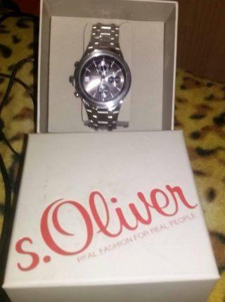S.  Oliver Herren - Armbanduhr Analog Quarz So - 348 - Mc Bild