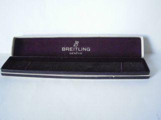 Vintage Breitling Uhrenbox Aus Dem 50er Jahre.  Selten. Bild