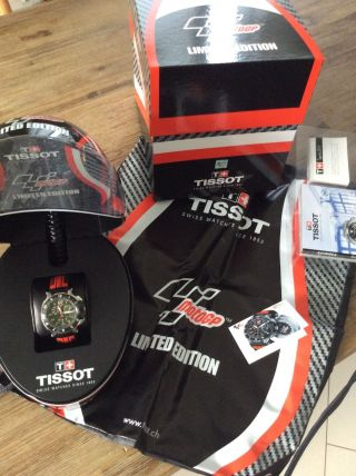 Tissot T - Race Moto Gp Limited Edition 2014 Chronograph Carbon Incl.  Helmbox Bild