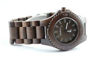 Bewell Holzuhr,  Damenuhr,  Herrenuhr,  Ausgesuchte A - Ware,  Armbanduhr,  Geschenk Bild