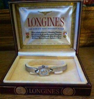 Longines Damenuhr Vintage Box Longines Watch Longines Uhr Rarität Longines Rare Bild