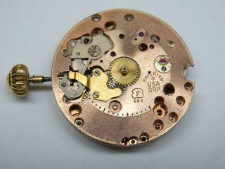 Vintage Breitling Bidynator Automatik Chronometr Uhrwerk.  Felsa 690 Bild