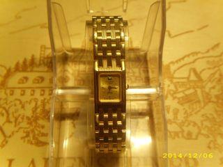Longines Damen Armbanduhr Vergoldet Swiss Made Bild