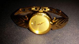 Prätina Damen Armbanduhr Uhr Vergoldet Vintage Retro Bild
