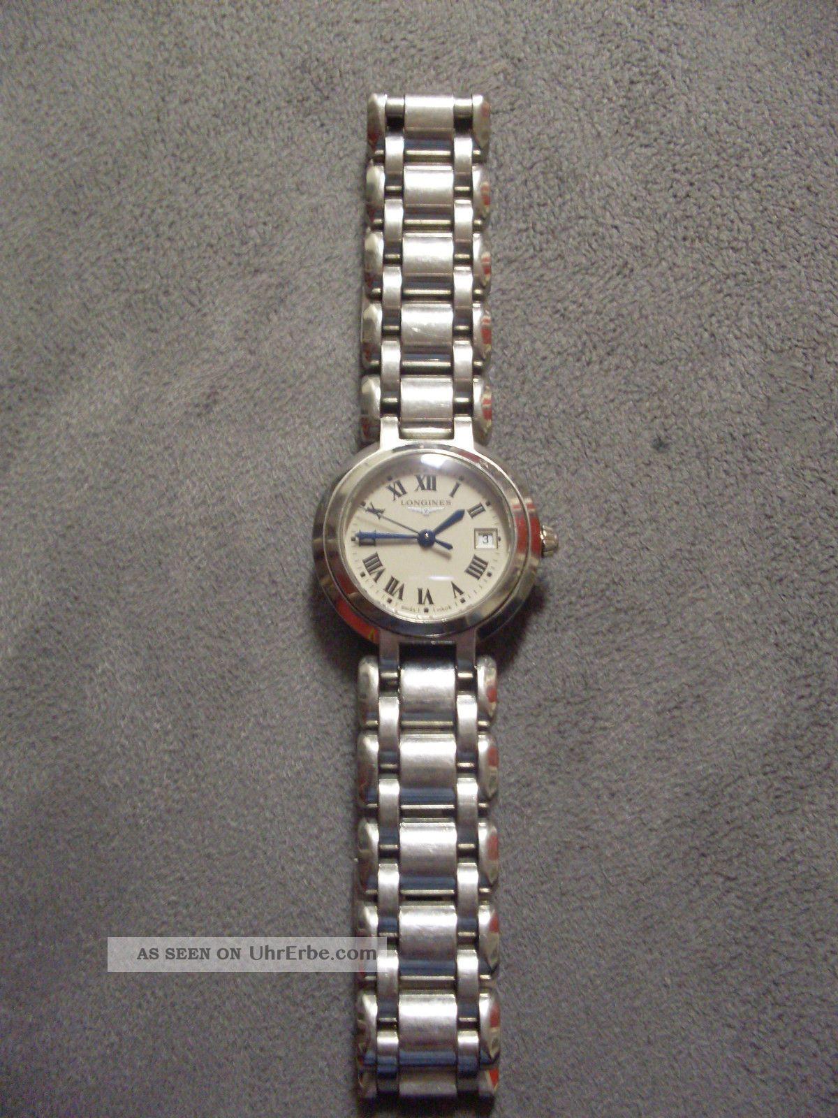 Longines Primaluna Uhr Damenuhr Armbanduhr Armbanduhren Bild