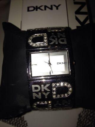 Dkny Damen - Armbanduhr Quarz Silber Bild