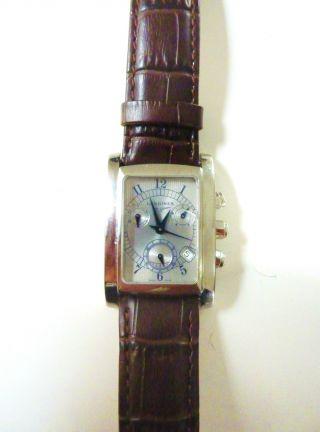 Longines Rectangulaire Dolce Vita Chronometer Armbanduhr Herrenuhr/xl - Damenuhr Bild