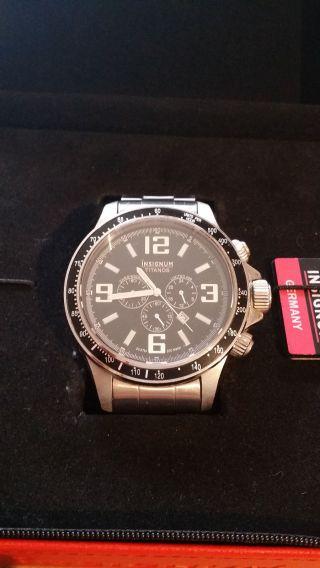 Herren Armbanduhr Insignum Xxl,  Edelstahl,  Saphirglas,  Limitiert Auf 499 Stk Bild