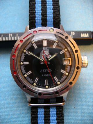 Wostok Sammleruhr Russische Uhr Automatik Bild