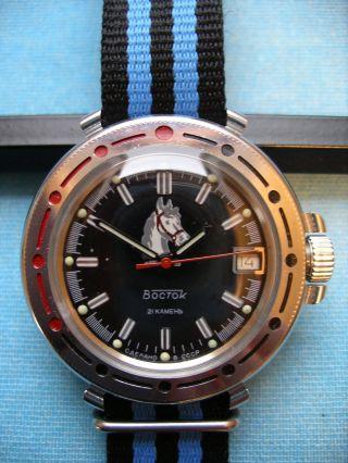 Wostok Sammleruhr Russische Uhr Handaufzug Bild
